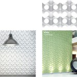 Tile pattern designs by Gillian Blease for Kaza concrete