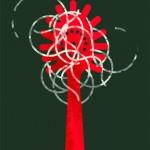 spaghetti food illustration by Gillian Blease