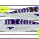 fish and vegetables illustration for  Waitrose by Gillian Blease